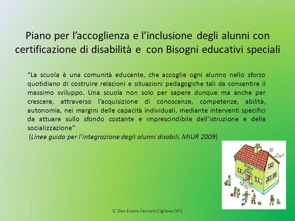 Un approccio basato sul modello ICF garantisce l'inclusione.