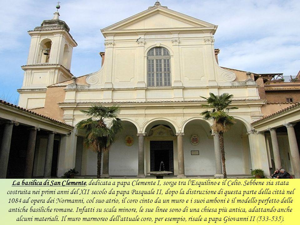 Leggenda vuole che la Basilica di Santa Cecilia. sorga sulla casa familiare di Cecilia,