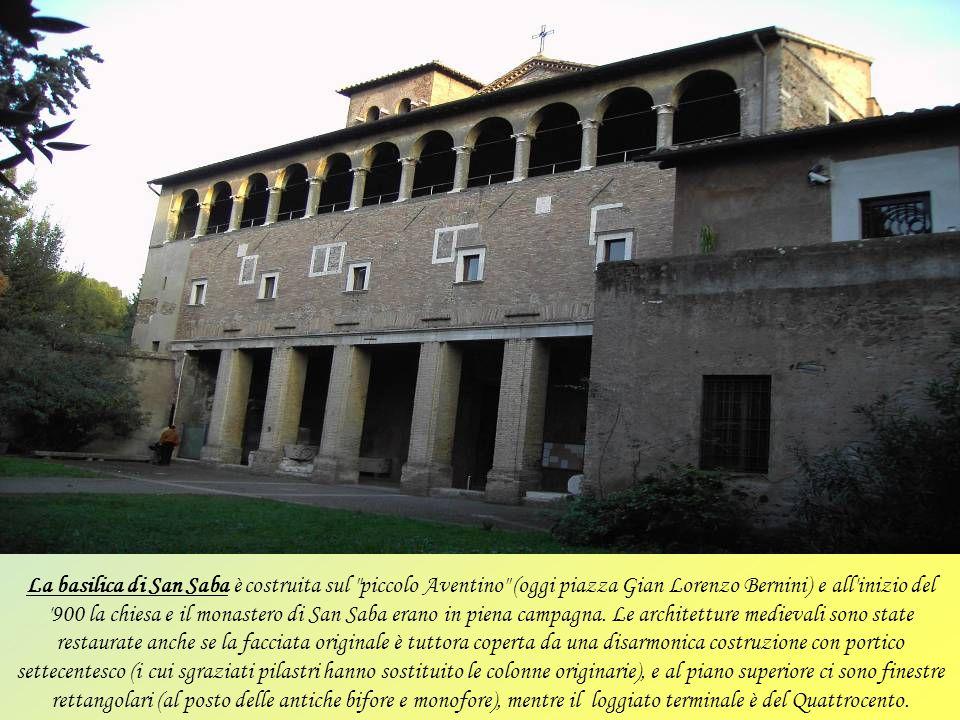 La basilica di San Pietro in Vincoli chiamata anche eudossiana dal nome dell'imperatrice romana Licinia Eudossia, che la fece costruire nel 442 per cu