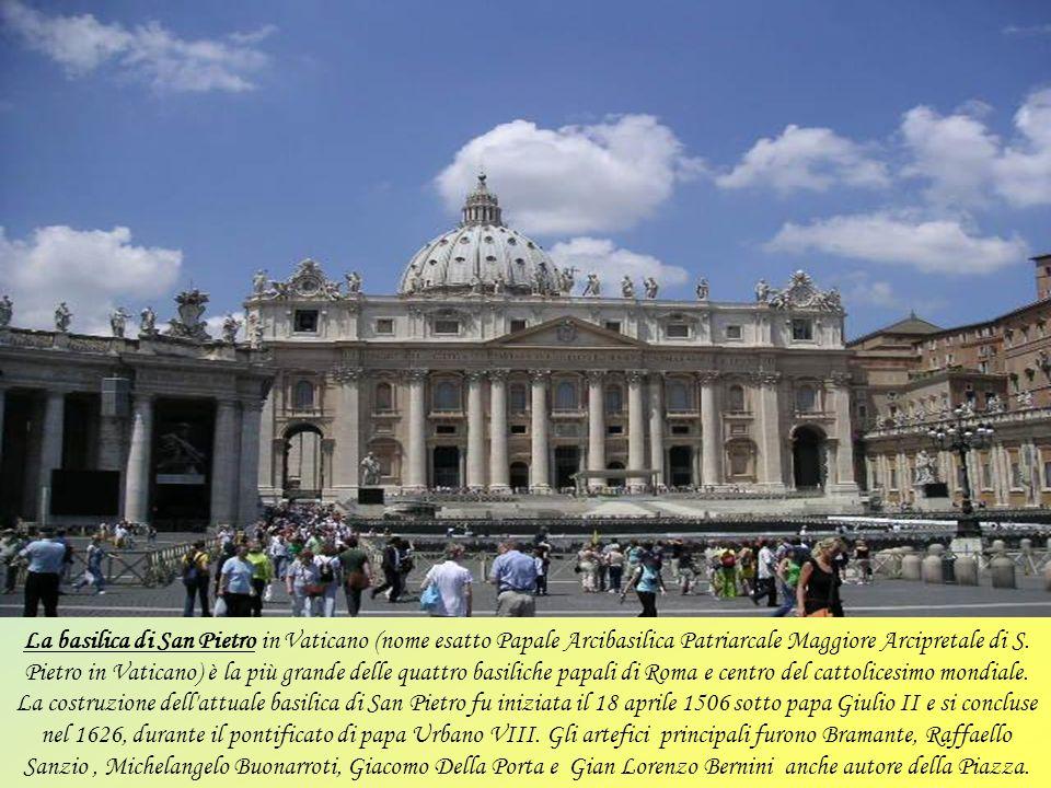 Basilica Sanctae Crucis in Ierusalem (Santa Croce in Gerusalemme) è una delle sette chiese di Roma che i pellegrini dovevano visitare a piedi in un gi