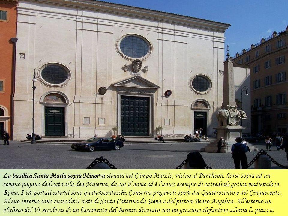 La basilica di San Giovanni in Laterano fatta costruire sotto il papa Melchiade (311-314) è una delle quattro grandi basiliche di Roma (con San Pietro