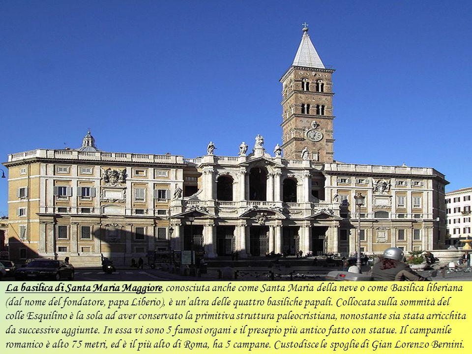 La basilica di San Paolo fuori le mura è una delle quattro basiliche papali di Roma, la seconda più grande dopo quella di San Pietro in Vaticano. Sorg