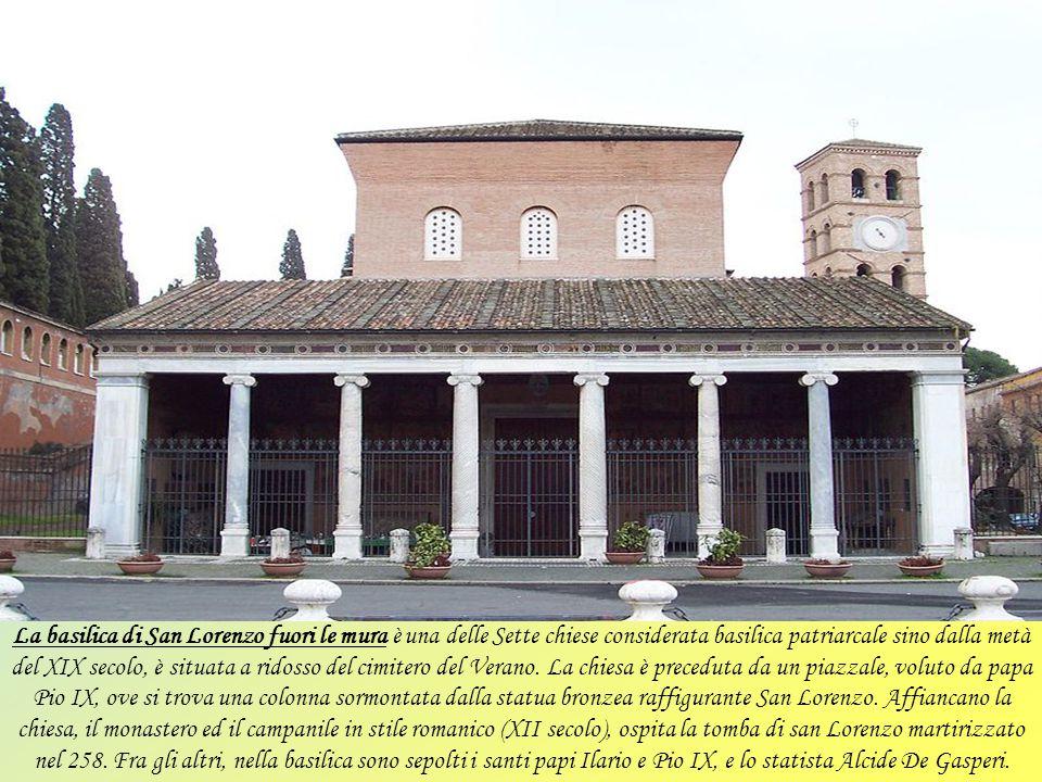 La basilica di Santa Maria Maggiore, conosciuta anche come Santa Maria della neve o come Basilica liberiana (dal nome del fondatore, papa Liberio), è