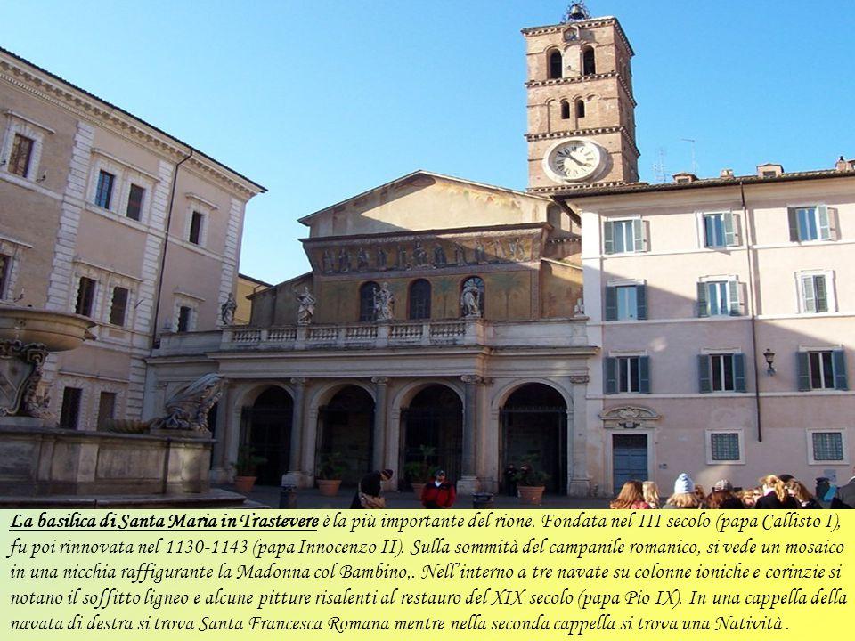 La basilica di San Lorenzo fuori le mura è una delle Sette chiese considerata basilica patriarcale sino dalla metà del XIX secolo, è situata a ridosso