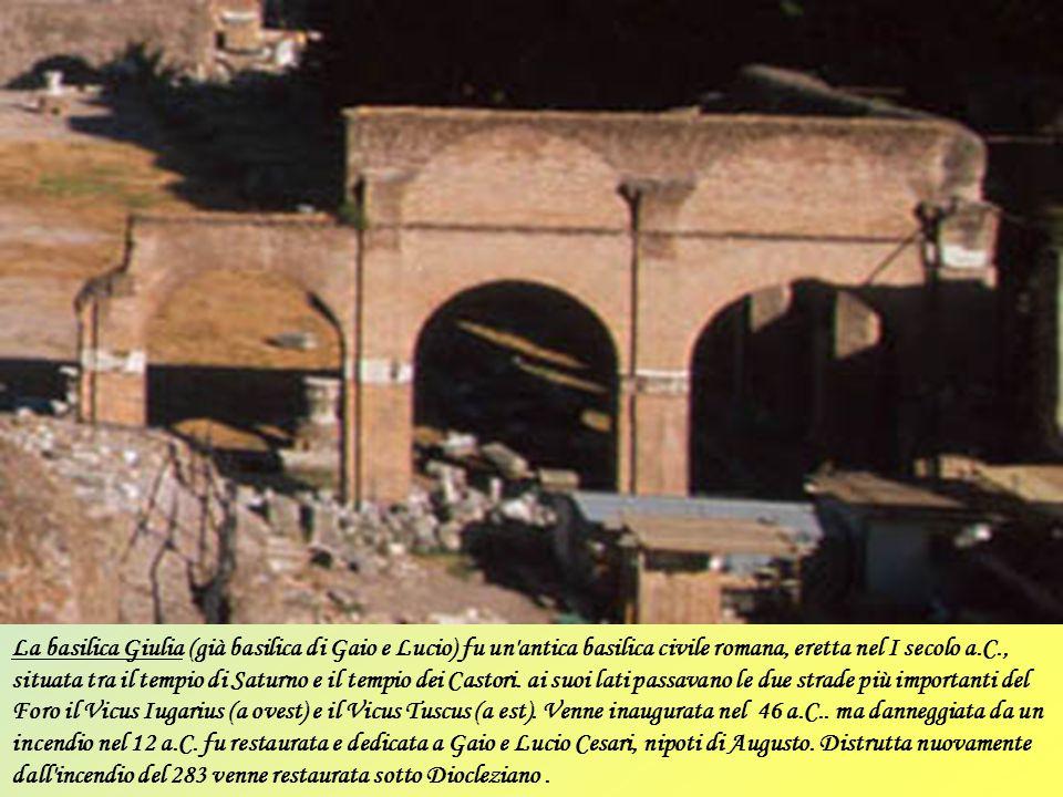 La basilica Neptuni fu costruita a Roma da Marco Vipsanio Agrippa in onore del dio del mare Nettuno, per celebrare le proprie vittorie navali. Nell'im