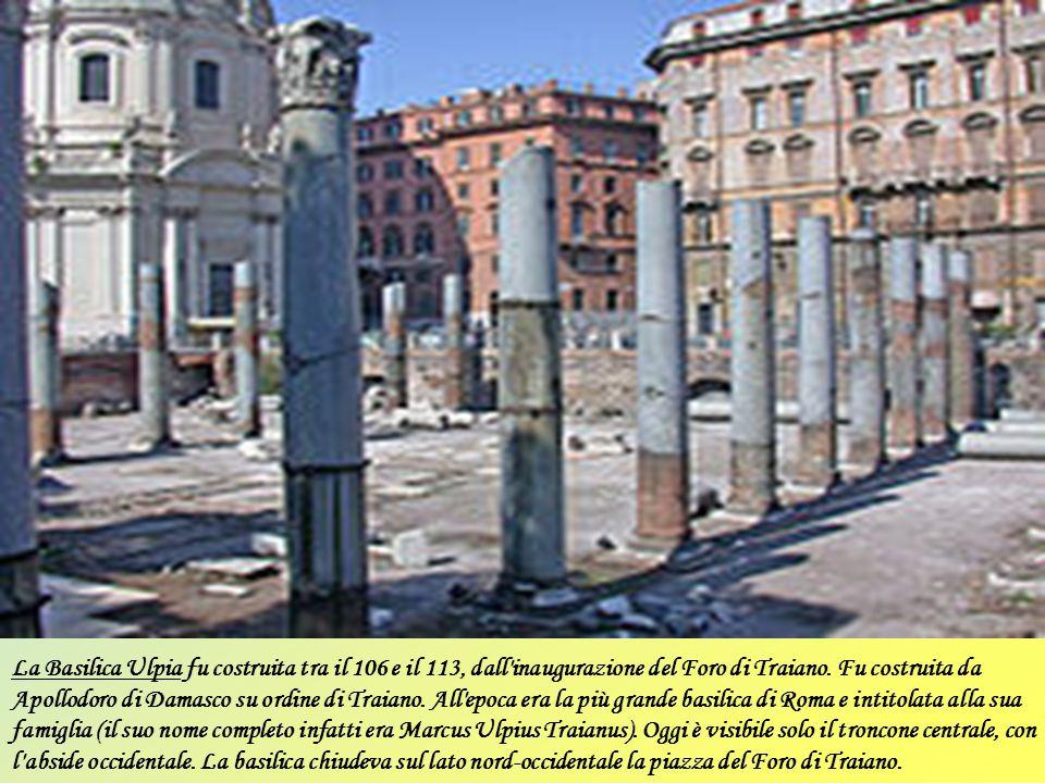 La basilica Giulia (già basilica di Gaio e Lucio) fu un'antica basilica civile romana, eretta nel I secolo a.C., situata tra il tempio di Saturno e il