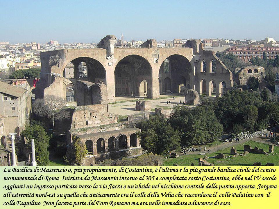 La Basilica Ulpia fu costruita tra il 106 e il 113, dall'inaugurazione del Foro di Traiano. Fu costruita da Apollodoro di Damasco su ordine di Traiano