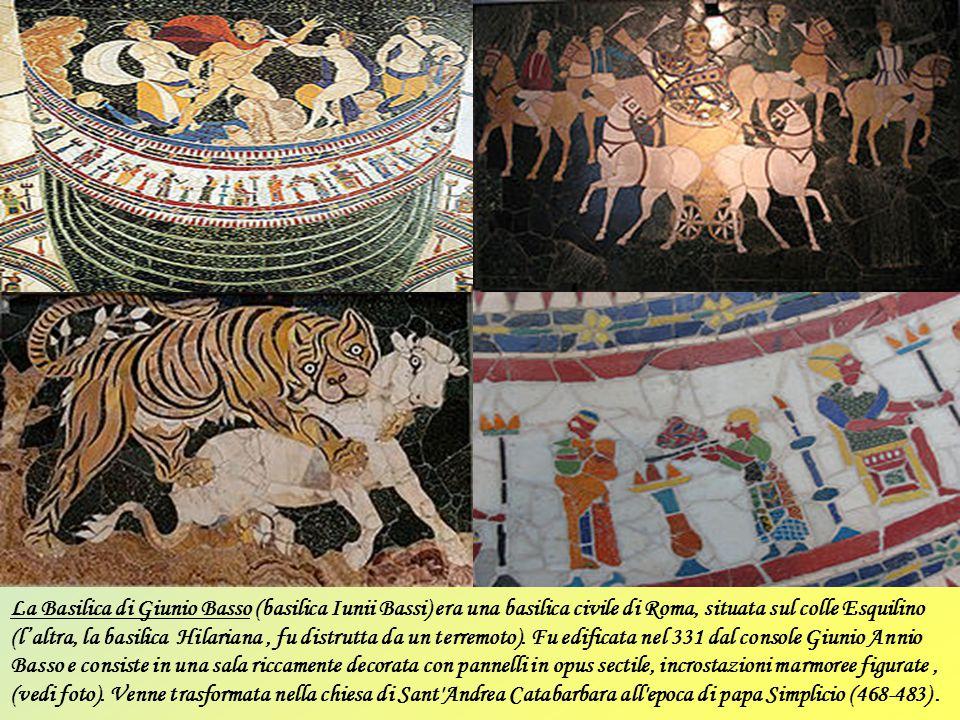 Basiliche note solo da fonti scritte Basilica Antonarum Duarum. Ricordata in un'iscrizione sepolcrale, si trattava probabilmente di un edificio dedica