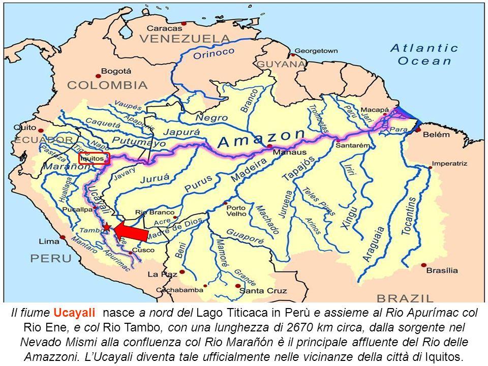 Rio Marañón Cordigliera delle AndePongo de Manseriche
