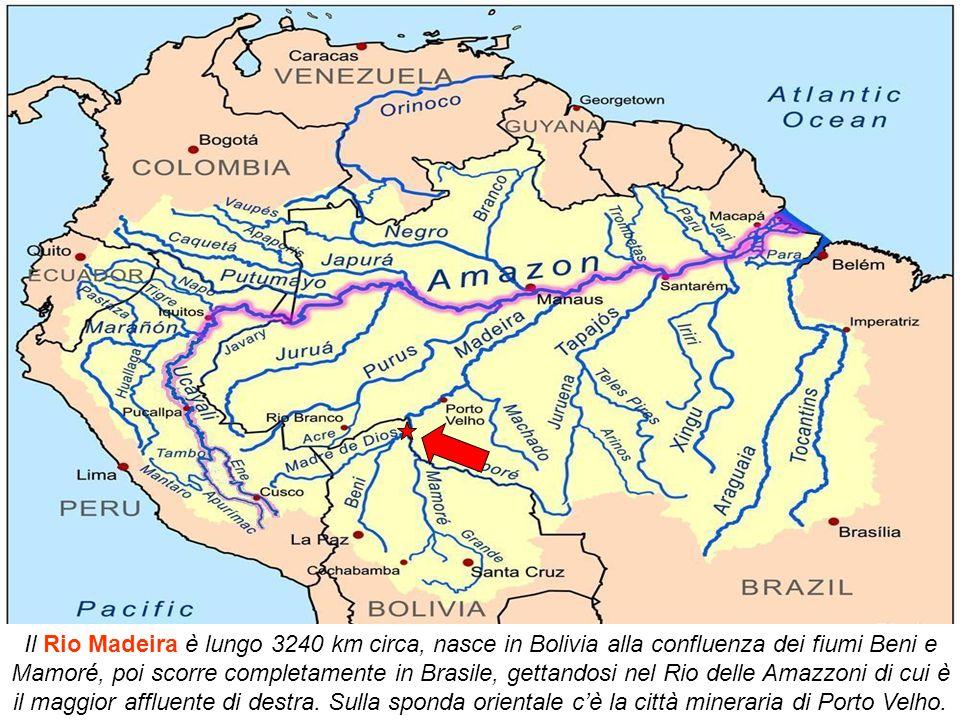 Rio Branco si trova sul fiume Acre; capitale dell'omonimo stato brasiliano è la città più grande con circa 300.000 abitanti con un fiorente commercio