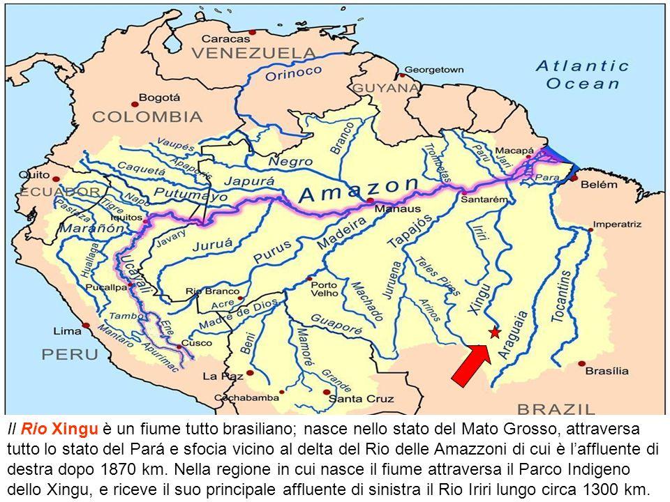 Il Tapajós nasce dalla incontro dei fiumi Teles Pires e Juruena nello stato brasiliano del Mato Grosso e per 2291 km (di cui solo 280 km sono navigabi