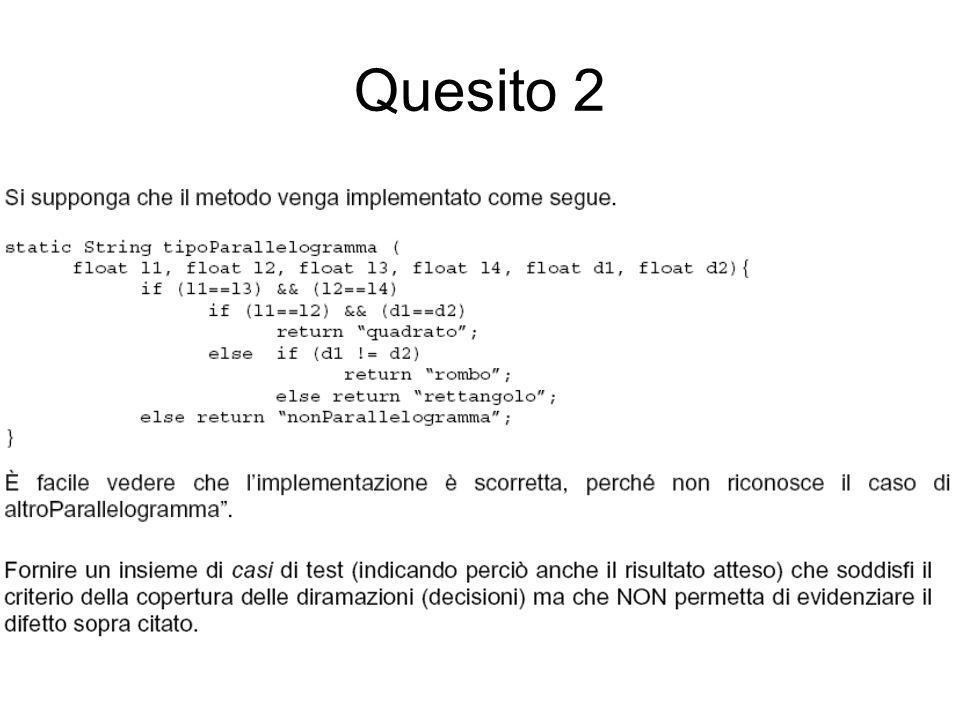 Soluzione 2 Si possono scegliere 4 casi che rendano vere o false le due proposizioni a[0]>a[1] e a[1]>a[2].