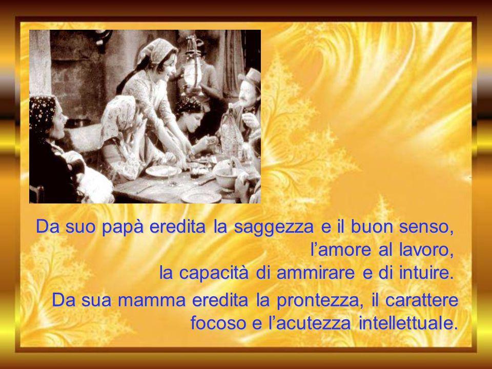Maria Domenica nasce ed è battezzata il 9 maggio del 1837 a Mornese. La famiglia era unita, socievole, senza ristrettezze economiche.