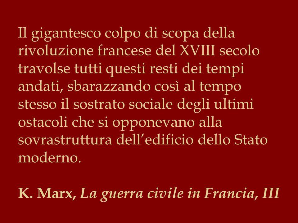Secondo Marx, il socialismo è condotto, in ragione delle leggi intime della sua natura, in una via che conduce il mondo attuale alle porte del mondo futuro, con il rigore estremo che comporta una evoluzione della vita organica.