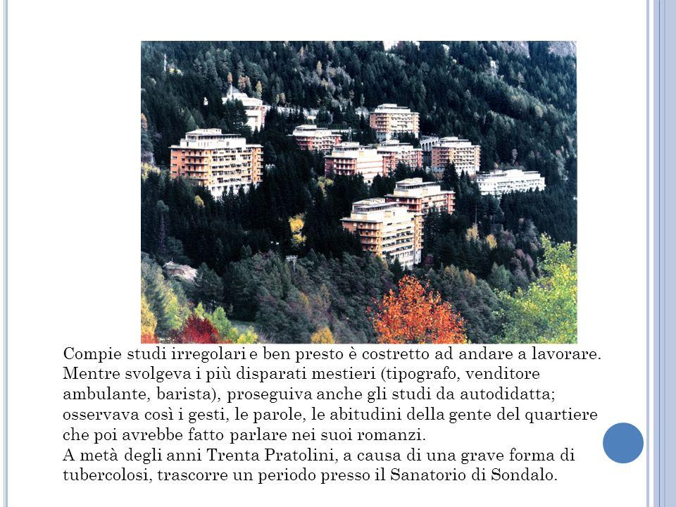 Tornato a Firenze, frequenta lo studio del pittore Ottone Rosai, luogo di incontro di molti artisti e intellettuali del capoluogo toscano.