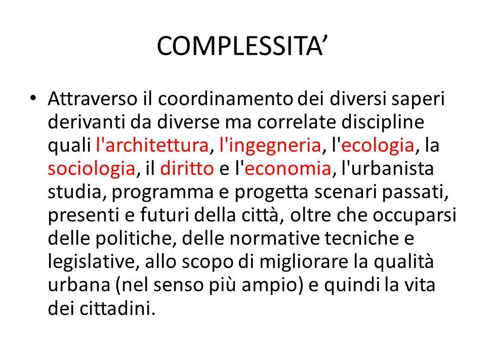 Strumenti L urbanistica comunica attraverso la produzione di PIANI.