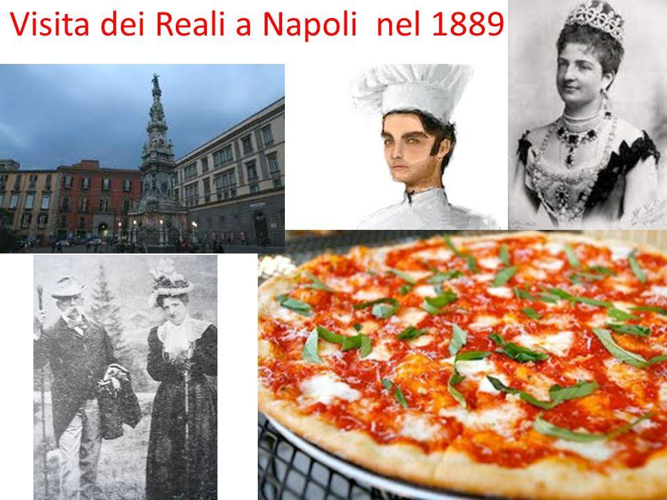 Visita dei Reali a Napoli nel 1889