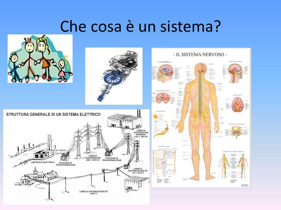 Che cosa è un sistema?