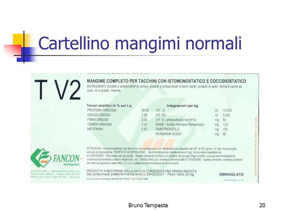 Bruno Tempesta20 Cartellino mangimi normali