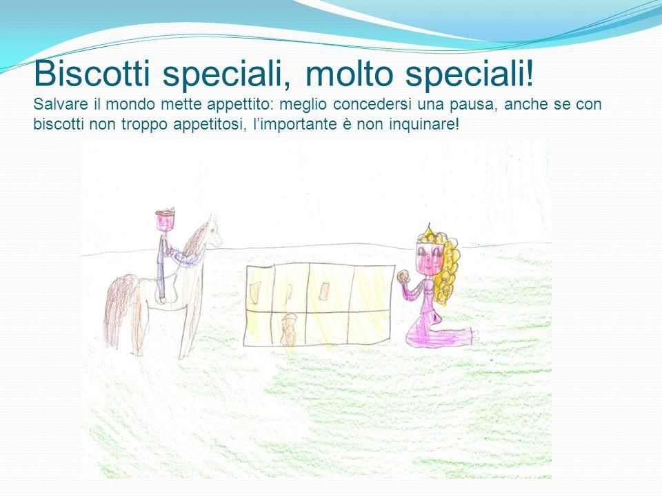 Biscotti speciali, molto speciali! Salvare il mondo mette appettito: meglio concedersi una pausa, anche se con biscotti non troppo appetitosi, l'impor