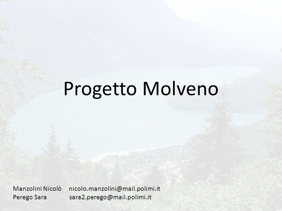 Lago di Molveno Estensione: 3,3 kmq Profondità massima: 123 m Livello medio storico: 823 m s.l.m.