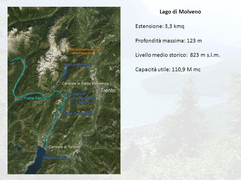 Lago di Garda Fiume Sarca Lago di Molveno Laghi di S.Massenza e Toblino Lago di Cavedine S.Massenza Torbole Comprensorio sciistico della Paganella T1 T2 T3