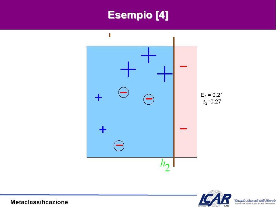 Metaclassificazione Esempio [3]