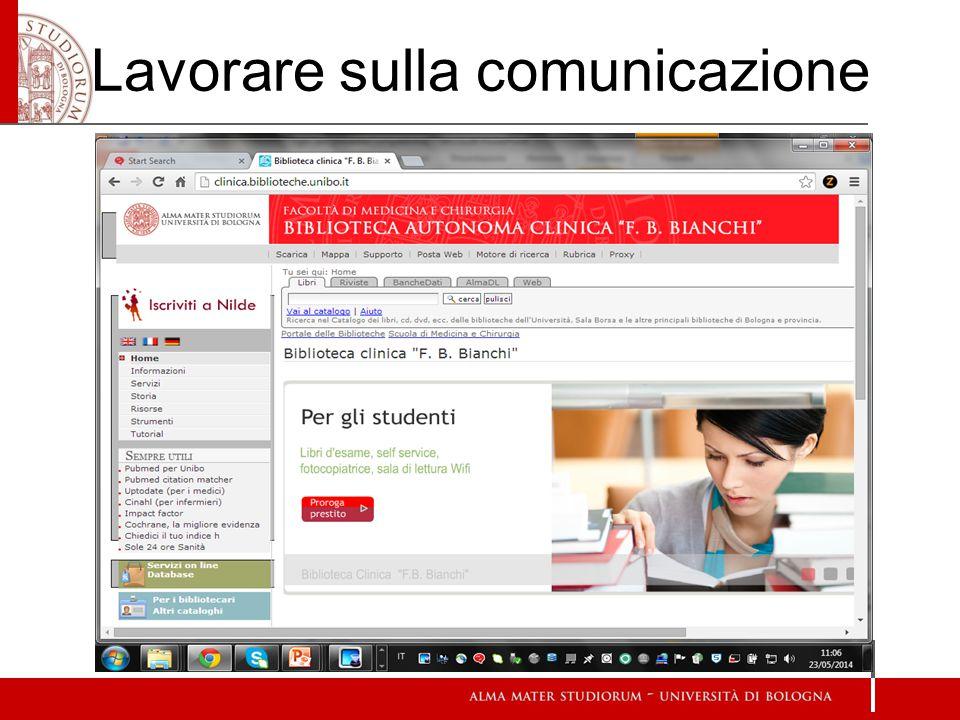 Lavorare sulla comunicazione