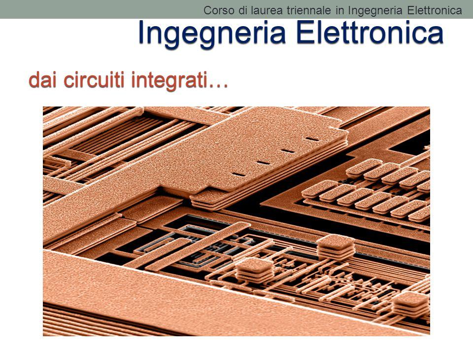 Ingegneria Elettronica dai circuiti integrati… Corso di laurea triennale in Ingegneria Elettronica