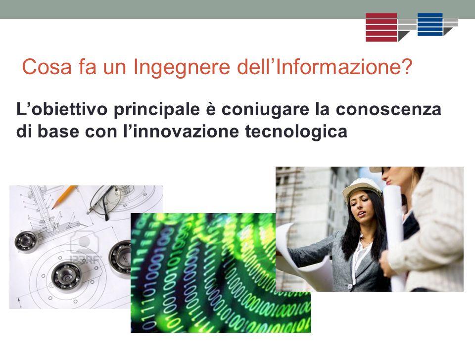 L'obiettivo principale è coniugare la conoscenza di base con l'innovazione tecnologica Cosa fa un Ingegnere dell'Informazione?