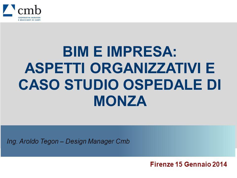 2 OSPEDALE SAN GERARDO - MONZA Il Progetto Pilota CMB -Fase 1 – 120 gg (dic 12 – giu 13) - test -Fase 2 – Cantiere (attuale) - operativa San Gerardo - MonzaOspedale