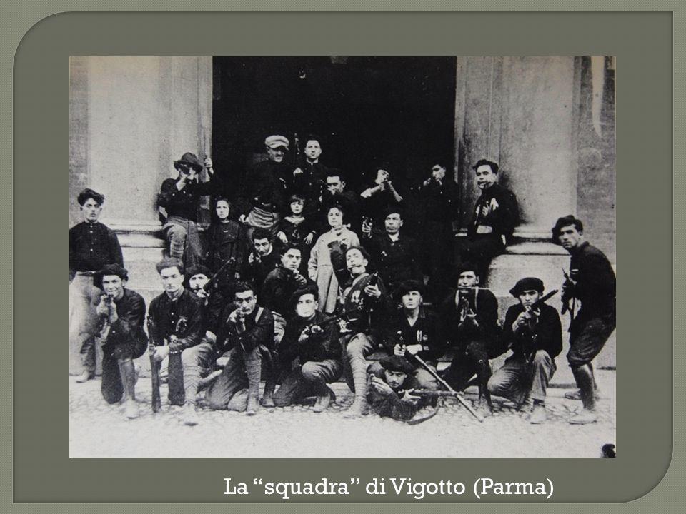 """La """"squadra"""" di Vigotto (Parma)"""