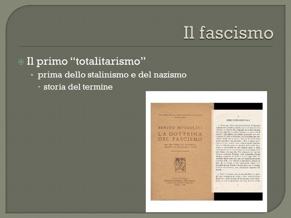""" Il primo """"totalitarismo"""" prima dello stalinismo e del nazismo  storia del termine"""