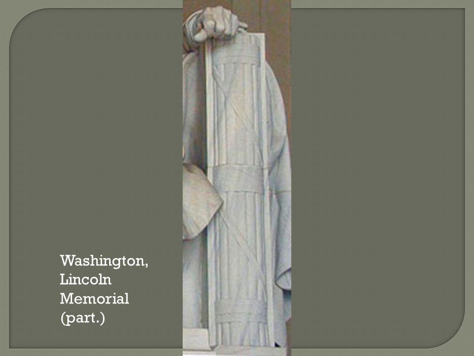 Washington, Lincoln Memorial (part.)
