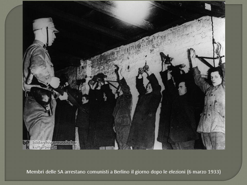Approvato l'atto dei Pieni Poteri: prima pagina della Deutsche Allgemeine Zeitung (24 marzo 1933)
