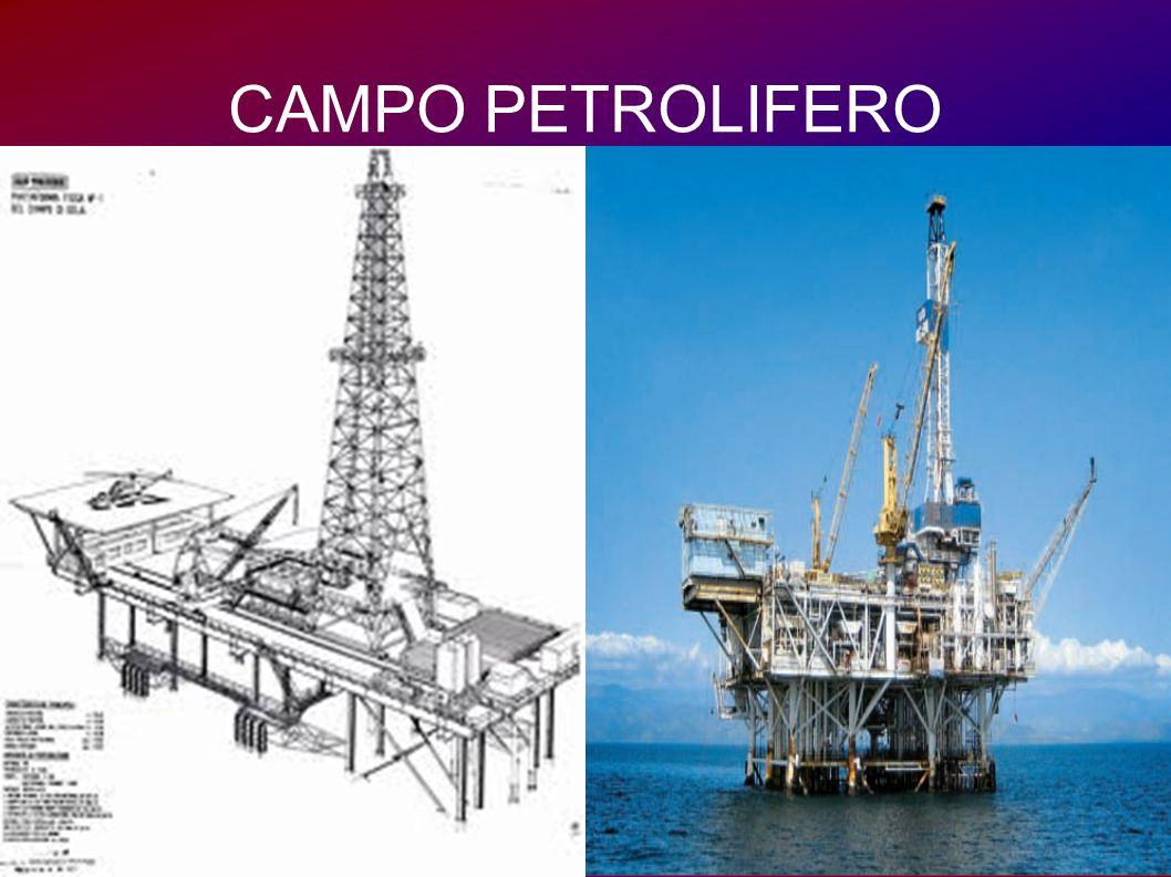 Quando i pozzi esplorativi confermano la presenza di vasti giacimenti, sul territorio nasce un campo petrolifero.