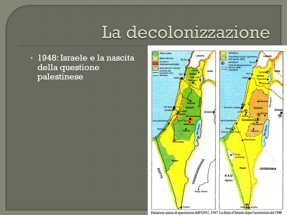 1948: Israele e la nascita della questione palestinese