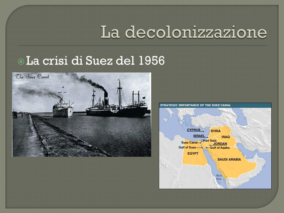  La crisi di Suez del 1956