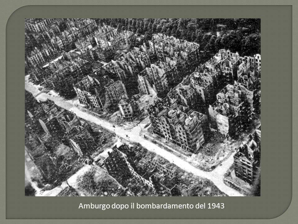 Amburgo dopo il bombardamento del 1943