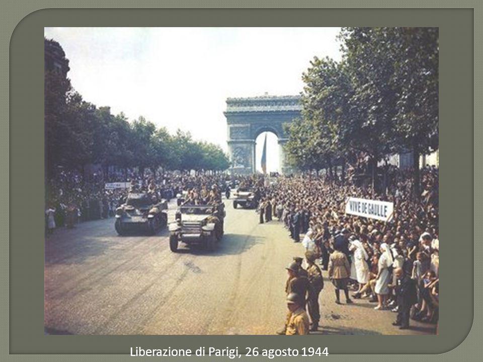 Liberazione di Parigi, 26 agosto 1944