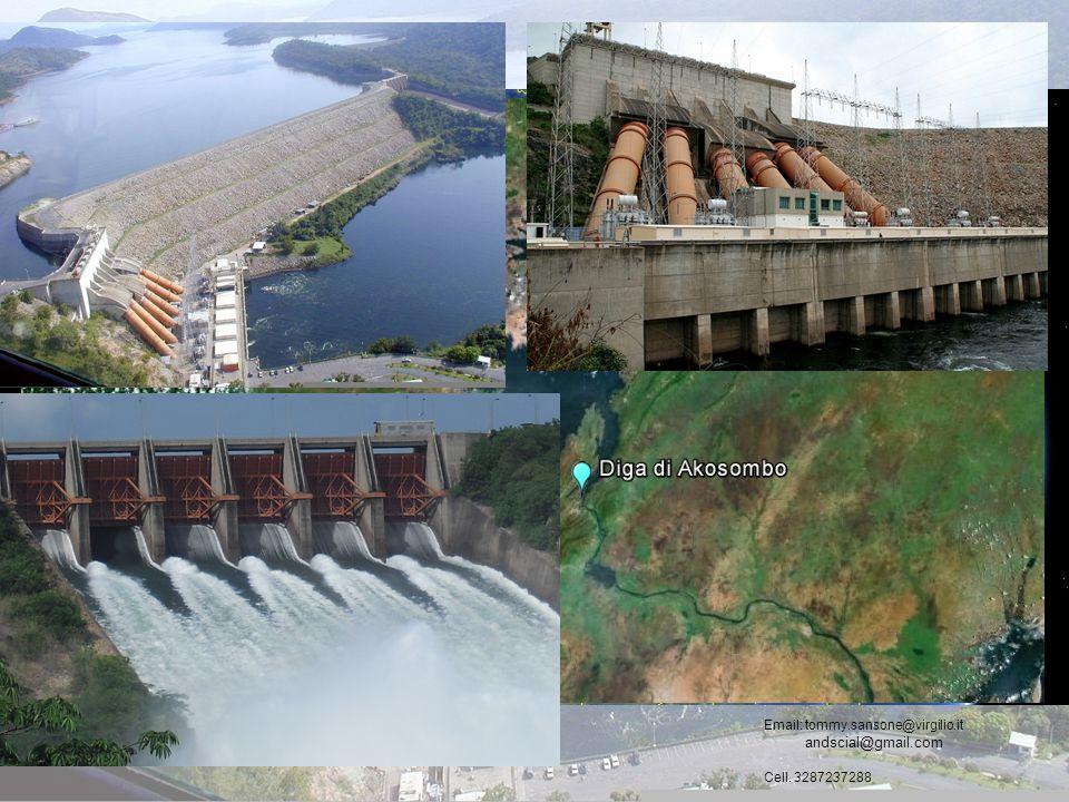 Diga di Akosombo, Lago Volta (Ghana) Tommaso Sansone Andrea Scialabba Email: tommy.sansone@virgilio.it andscial@gmail.com Cell. 3287237288 Ghana Lago
