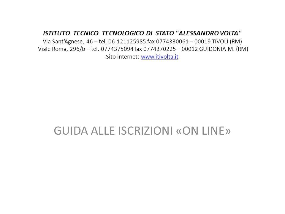 ISTITUTO TECNICO TECNOLOGICO DI STATO