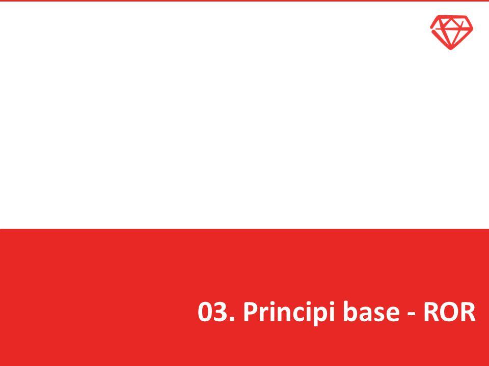 03. Principi base - ROR