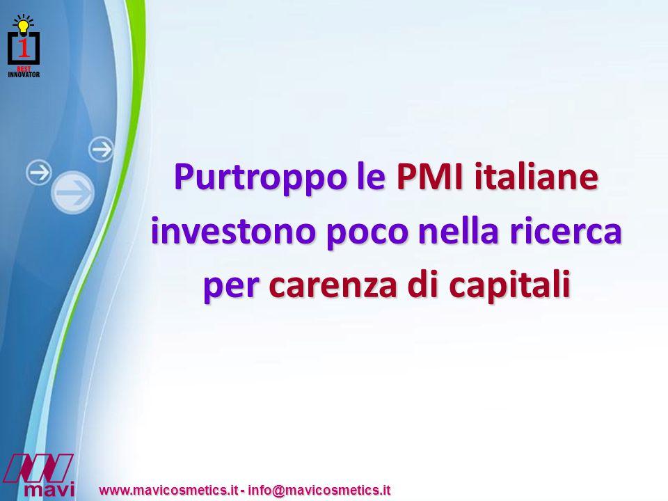 Powerpoint Templates www.mavicosmetics.it - info@mavicosmetics.it da Standard & Poor's - Italy Riconoscimenti ottenuti