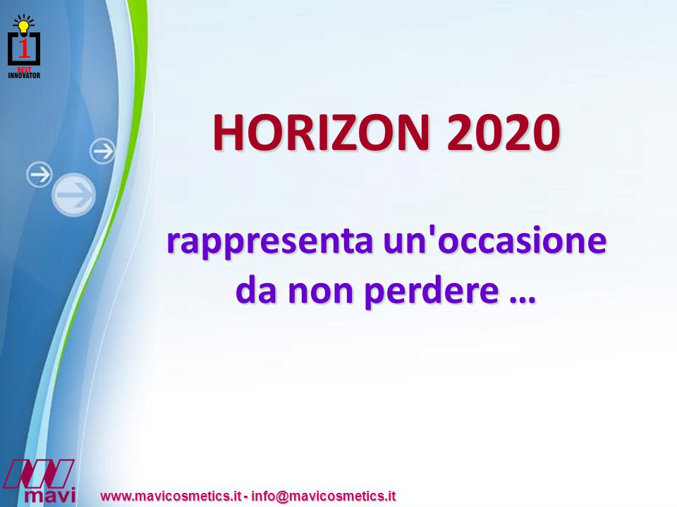 Powerpoint Templates www.mavicosmetics.it - info@mavicosmetics.it che per realizzare particolari medicazione innovative.