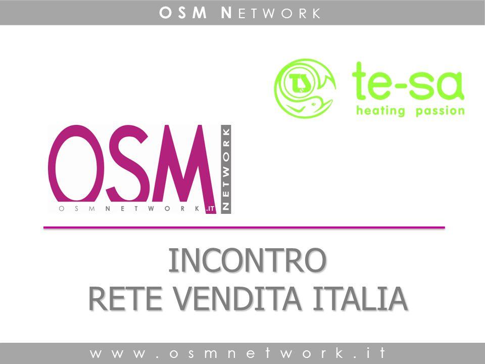 www.osm network.it OSM N etwork www.osm network.it OSM N etwork