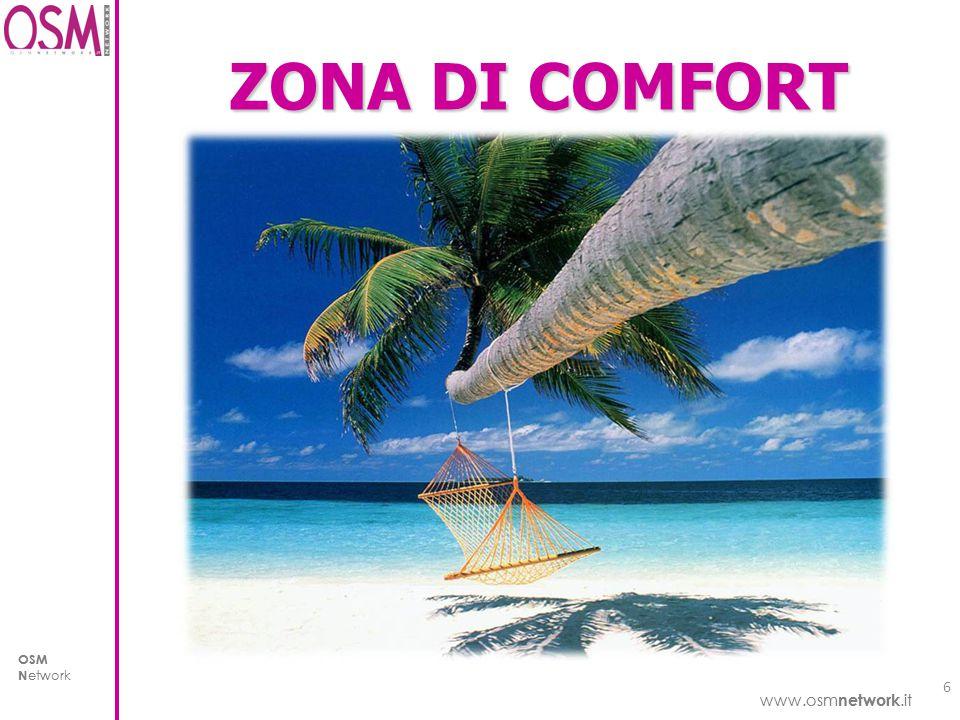www.osm network.it OSM N etwork www.osm network.it OSM N etwork ZONA DI COMFORT 6