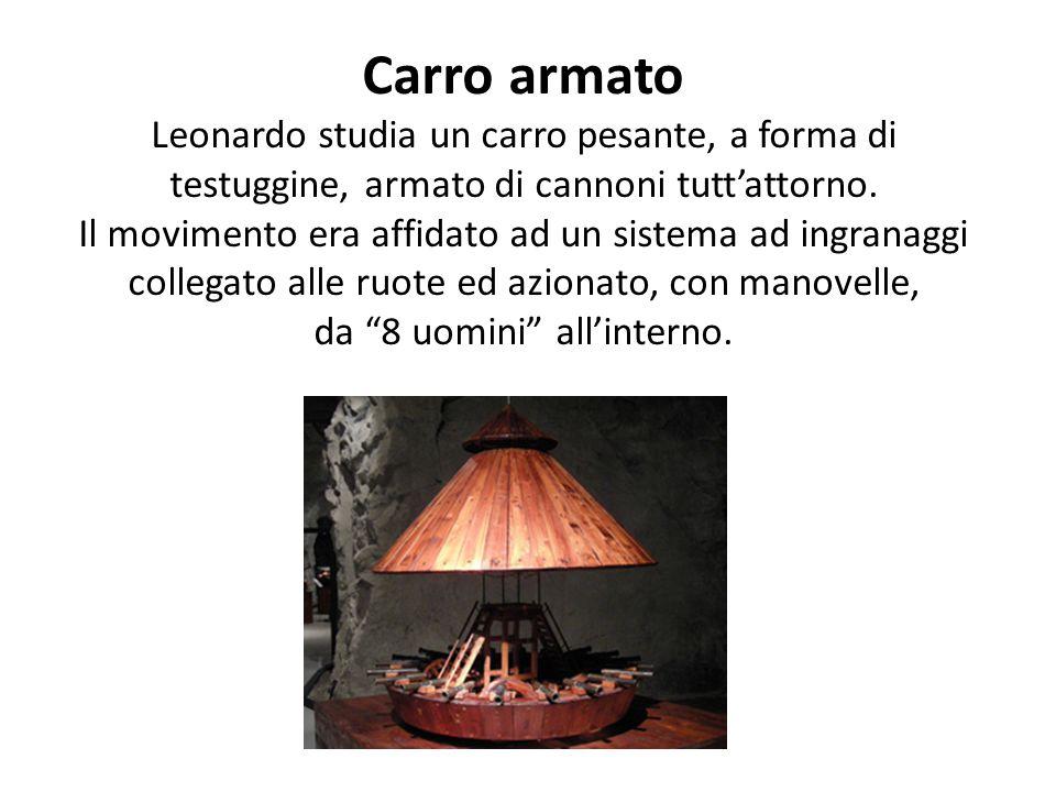 Proiettili ogivali I proiettili sono la conferma delle leggi che Leonardo enuncia sull'influenza delle correnti su di essi. Ai proiettili aveva dato u