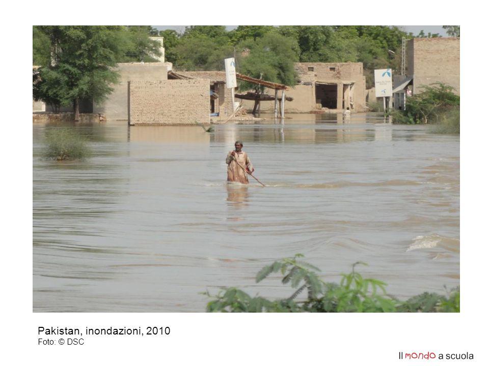 Pakistan, inondazioni, 2010 Foto: © DSC