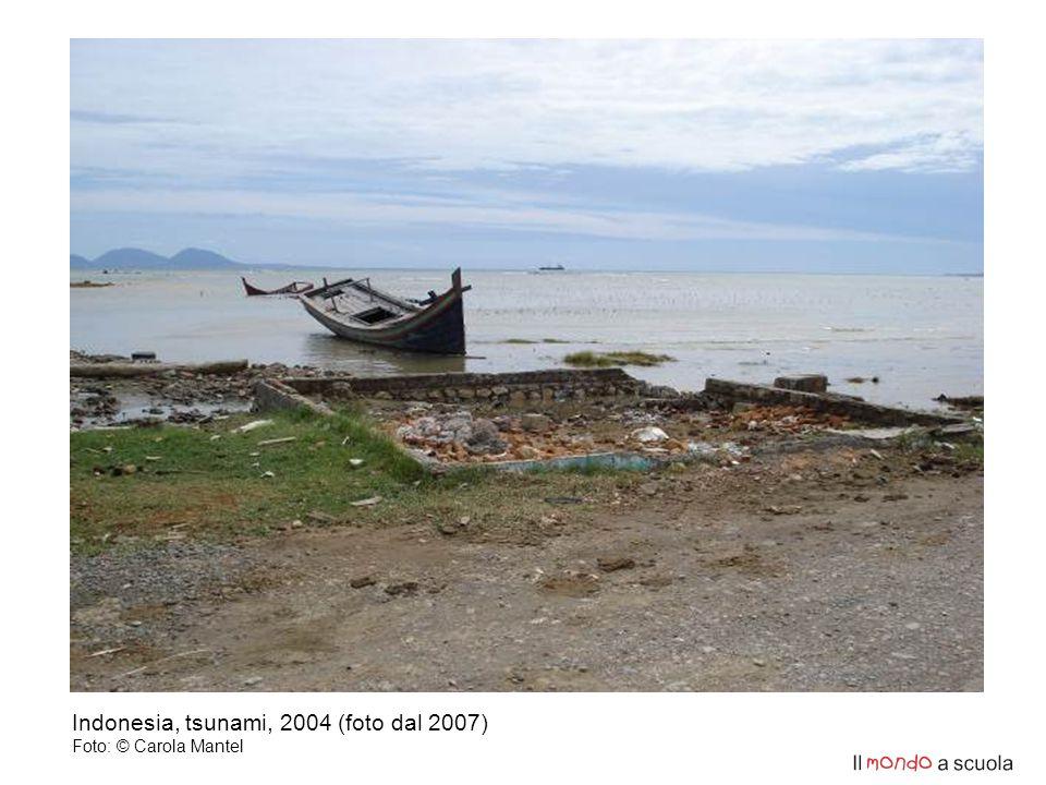 Indonesia, tsunami, 2004 (foto dal 2007) Foto: © Carola Mantel
